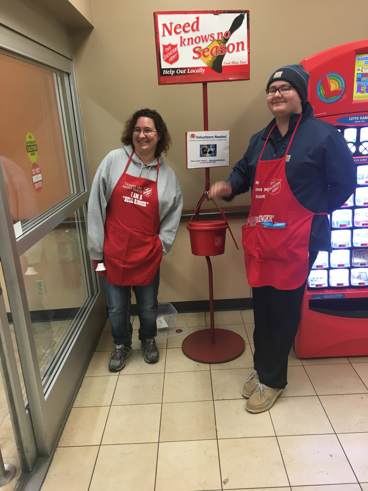 Menominee Chapter - Bell Ringing