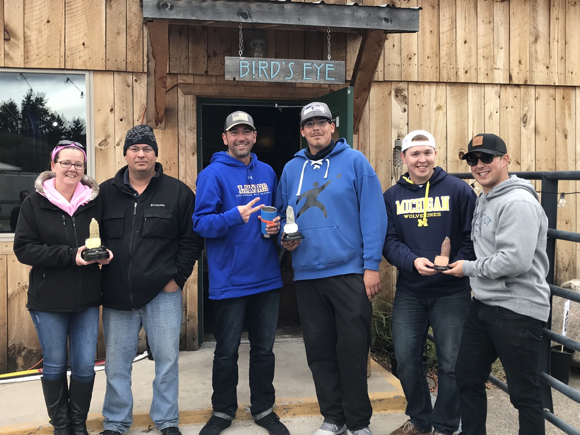 2018 SSM Cornhole Tournament Winners